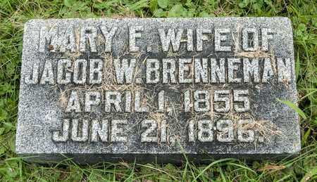 BRENNEMAN, MARY E. - Wayne County, Ohio | MARY E. BRENNEMAN - Ohio Gravestone Photos