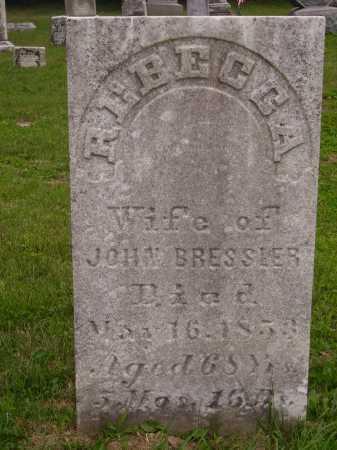 BRESSLER, REBECCA - Wayne County, Ohio | REBECCA BRESSLER - Ohio Gravestone Photos