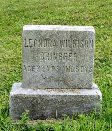 WILKISON BRINGGER, LEONORA - Wayne County, Ohio | LEONORA WILKISON BRINGGER - Ohio Gravestone Photos