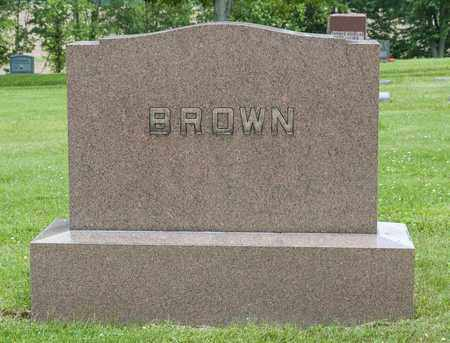 BROWN, ALLEN - Wayne County, Ohio | ALLEN BROWN - Ohio Gravestone Photos