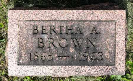 KELLER BROWN, BERTHA AMANDA - Wayne County, Ohio | BERTHA AMANDA KELLER BROWN - Ohio Gravestone Photos