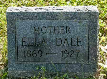 BARNES BROWN, ELLA DALE - Wayne County, Ohio | ELLA DALE BARNES BROWN - Ohio Gravestone Photos