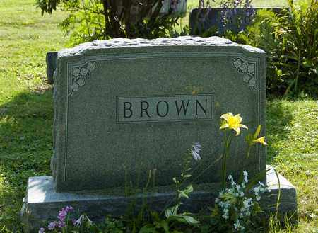 BROWN, CHARLES EUDOICE - Wayne County, Ohio | CHARLES EUDOICE BROWN - Ohio Gravestone Photos