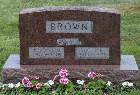 BROWN, SCOTT F. - Wayne County, Ohio | SCOTT F. BROWN - Ohio Gravestone Photos