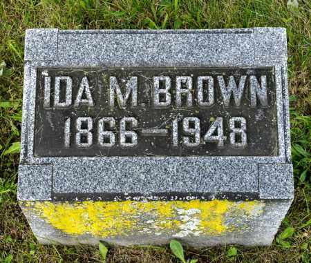 BROWN, IDA M. - Wayne County, Ohio | IDA M. BROWN - Ohio Gravestone Photos
