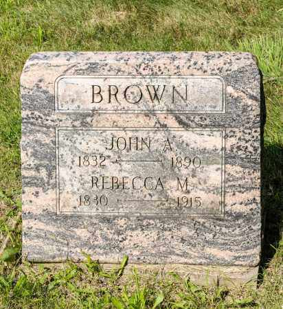BROWN, JOHN A. - Wayne County, Ohio | JOHN A. BROWN - Ohio Gravestone Photos