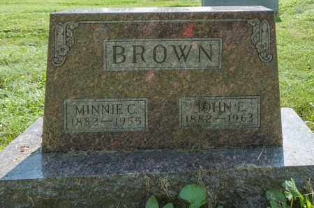 BROWN, MINNIE CAROLINE - Wayne County, Ohio | MINNIE CAROLINE BROWN - Ohio Gravestone Photos