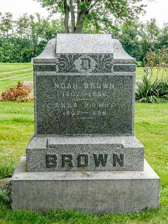 BROWN, NANCY - Wayne County, Ohio | NANCY BROWN - Ohio Gravestone Photos