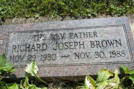 BROWN, RICHARD JOSEPH - Wayne County, Ohio | RICHARD JOSEPH BROWN - Ohio Gravestone Photos