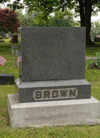 BROWN, WILBUR E. - Wayne County, Ohio | WILBUR E. BROWN - Ohio Gravestone Photos