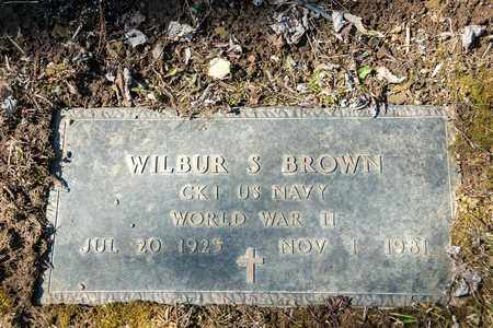 BROWN, WILBUR S. - Wayne County, Ohio | WILBUR S. BROWN - Ohio Gravestone Photos
