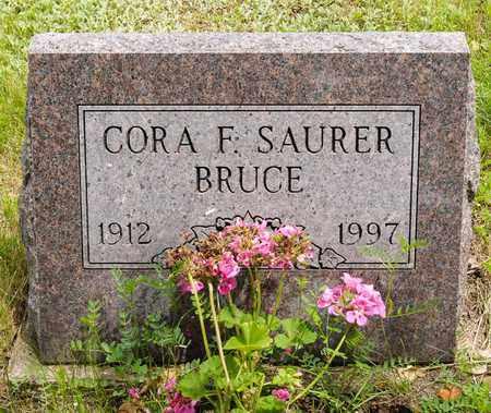 AUSTEN BRUCE, CORA FAYE - Wayne County, Ohio | CORA FAYE AUSTEN BRUCE - Ohio Gravestone Photos