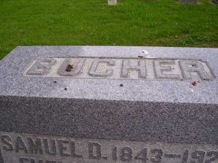 BUCHER MONUMENT, TOP - Wayne County, Ohio | TOP BUCHER MONUMENT - Ohio Gravestone Photos
