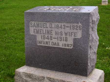 BUCHER, EMELINE - Wayne County, Ohio | EMELINE BUCHER - Ohio Gravestone Photos