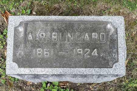 BUNGARD, ALEXANDER R. - Wayne County, Ohio | ALEXANDER R. BUNGARD - Ohio Gravestone Photos