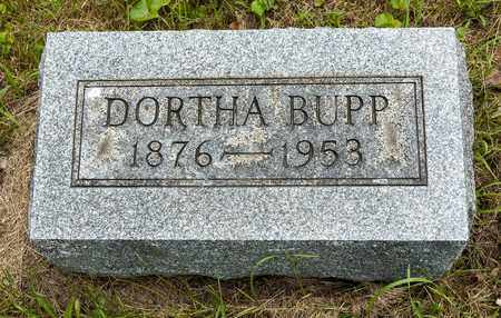 BUPP, DORTHA - Wayne County, Ohio | DORTHA BUPP - Ohio Gravestone Photos