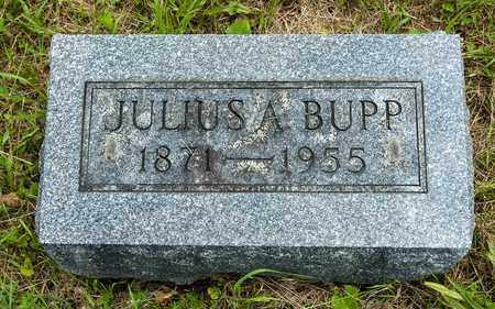 BUPP, JULIUS A. - Wayne County, Ohio | JULIUS A. BUPP - Ohio Gravestone Photos