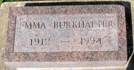 BURKHALTER, EMMA - Wayne County, Ohio | EMMA BURKHALTER - Ohio Gravestone Photos