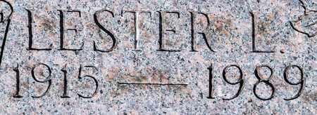 BURKHALTER, LESTER L - Wayne County, Ohio   LESTER L BURKHALTER - Ohio Gravestone Photos
