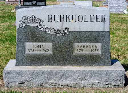 BURKHOLDER, BARBARA - Wayne County, Ohio | BARBARA BURKHOLDER - Ohio Gravestone Photos