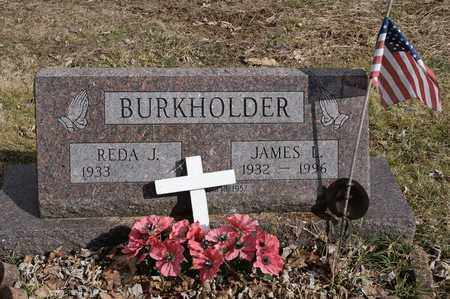 BURKHOLDER, JAMES L. - Wayne County, Ohio | JAMES L. BURKHOLDER - Ohio Gravestone Photos