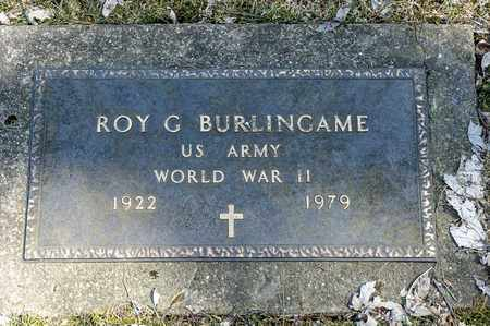 BURLINGAME, ROY G. - Wayne County, Ohio | ROY G. BURLINGAME - Ohio Gravestone Photos