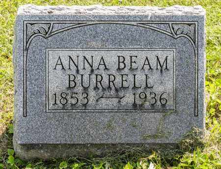 BEAM BURRELL, ANNA - Wayne County, Ohio | ANNA BEAM BURRELL - Ohio Gravestone Photos