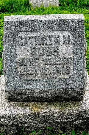 BUSS, CATHRYN M. - Wayne County, Ohio | CATHRYN M. BUSS - Ohio Gravestone Photos