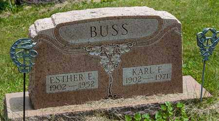 BUSS, KARL F. - Wayne County, Ohio | KARL F. BUSS - Ohio Gravestone Photos