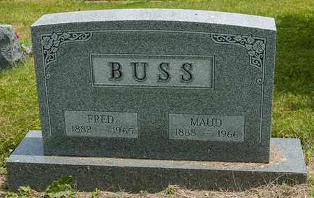 SMEDLEY BUSS, MAUD - Wayne County, Ohio | MAUD SMEDLEY BUSS - Ohio Gravestone Photos