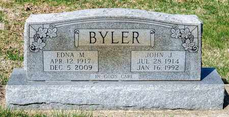 BYLER, JOHN J - Wayne County, Ohio | JOHN J BYLER - Ohio Gravestone Photos