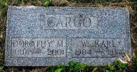 CARGO, W. KARL - Wayne County, Ohio | W. KARL CARGO - Ohio Gravestone Photos
