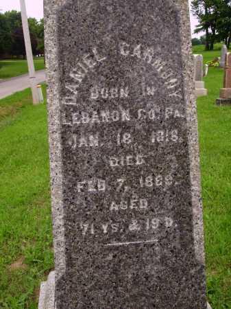 CARMONY, DANIEL - Wayne County, Ohio | DANIEL CARMONY - Ohio Gravestone Photos