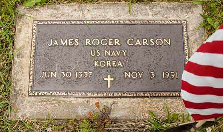 CARSON, JAMES ROGER - Wayne County, Ohio | JAMES ROGER CARSON - Ohio Gravestone Photos