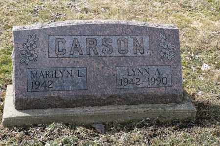 CARSON, LYNN A. - Wayne County, Ohio | LYNN A. CARSON - Ohio Gravestone Photos