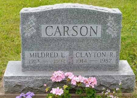 CARSON, MILDRED L. - Wayne County, Ohio | MILDRED L. CARSON - Ohio Gravestone Photos