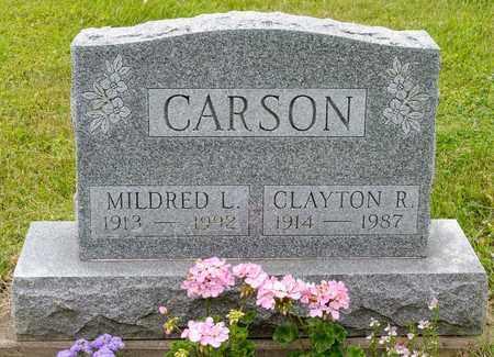 CARSON, CLAYTON R. - Wayne County, Ohio | CLAYTON R. CARSON - Ohio Gravestone Photos