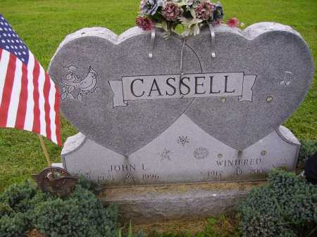 GAMBER CASSELL, WINIFRED - Wayne County, Ohio | WINIFRED GAMBER CASSELL - Ohio Gravestone Photos