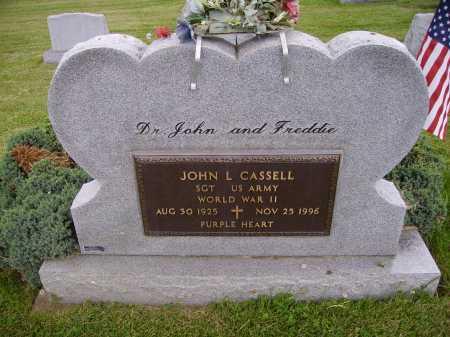 CASSELL, JOHN L. - Wayne County, Ohio | JOHN L. CASSELL - Ohio Gravestone Photos