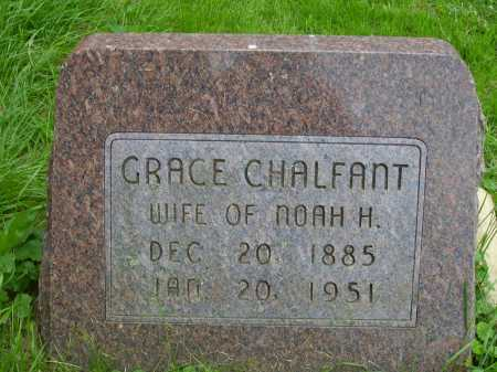 STOCKMAN CHALFANT, GRACE - Wayne County, Ohio | GRACE STOCKMAN CHALFANT - Ohio Gravestone Photos