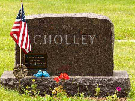 CHOLLEY, NORMAN - Wayne County, Ohio | NORMAN CHOLLEY - Ohio Gravestone Photos