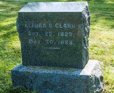 CLARK, ELMIRA S. - Wayne County, Ohio | ELMIRA S. CLARK - Ohio Gravestone Photos