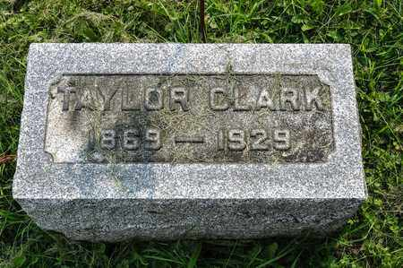CLARK, TAYLOR - Wayne County, Ohio | TAYLOR CLARK - Ohio Gravestone Photos