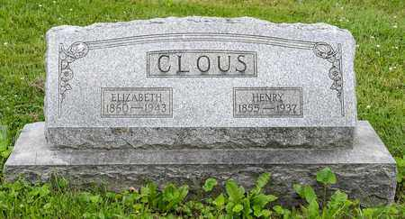 CLOUS, HENRY - Wayne County, Ohio | HENRY CLOUS - Ohio Gravestone Photos