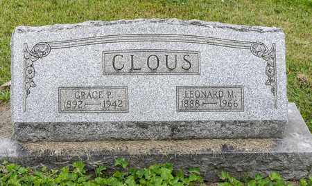 CLOUS, GRACE P. - Wayne County, Ohio | GRACE P. CLOUS - Ohio Gravestone Photos