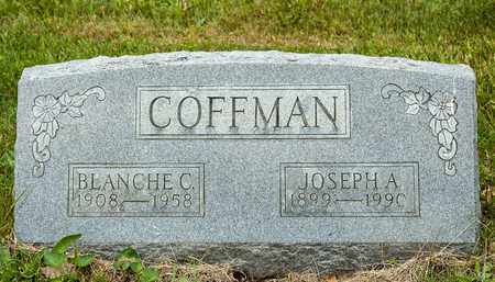 COFFMAN, JOSEPH A. - Wayne County, Ohio | JOSEPH A. COFFMAN - Ohio Gravestone Photos
