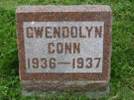 CONN, GWENDOLYN - Wayne County, Ohio | GWENDOLYN CONN - Ohio Gravestone Photos