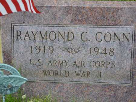 CONN, RAYMOND - Wayne County, Ohio | RAYMOND CONN - Ohio Gravestone Photos