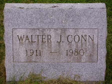 CONN, WALTER J. - Wayne County, Ohio | WALTER J. CONN - Ohio Gravestone Photos