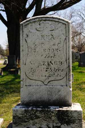 MOORE COOK, ANNA - Wayne County, Ohio | ANNA MOORE COOK - Ohio Gravestone Photos